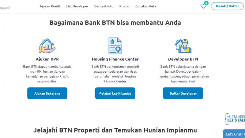 KPR Pertama di Indonesia